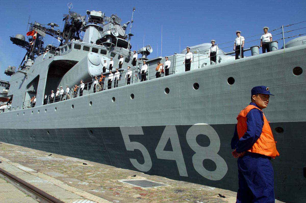 Бпк адмирал пантелеев в циндао китай